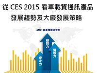 從CES 2015看車載資通訊產品發展趨勢及大廠發展策略