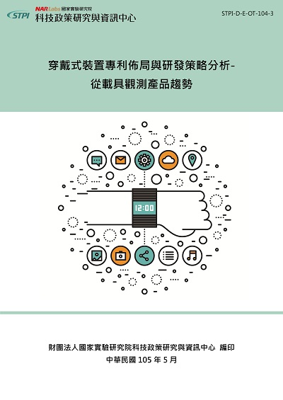 穿戴式裝置專利佈局與研發策略分析
