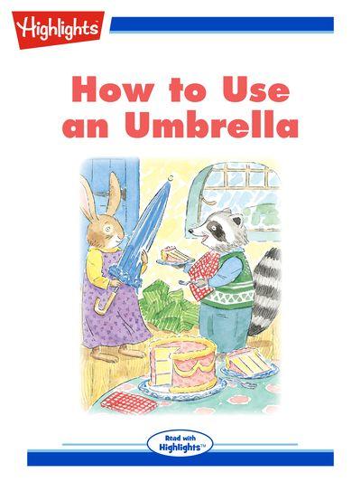 How to use an umbrella [有聲書]