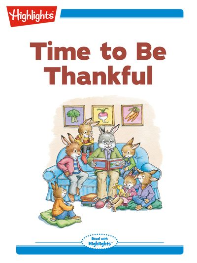 Time to be thankful [有聲書]