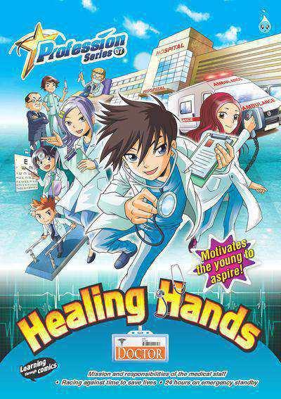 Healing hands:doctor