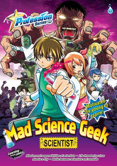 Mad science geek:scientist