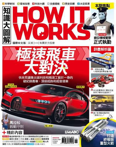 How it works知識大圖解 [2018年11月號] [ISSUE 50]:極速飛車大對決