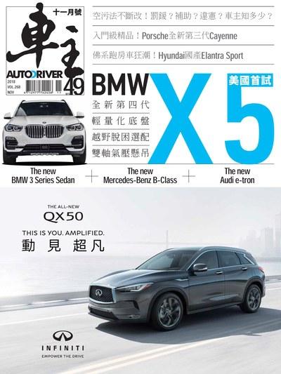 車主 [Vol. 268]:BMW X5 美國首試