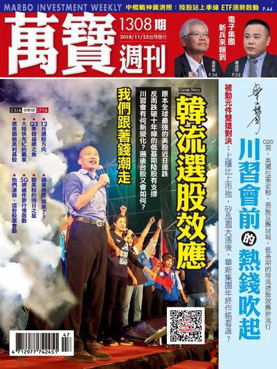 萬寶週刊 2018/11/23 [第1308期]:韓流選股效應