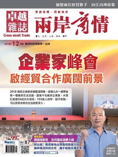 兩岸商情 [第87期]:企業家峰會 啟經貿合作廣闊前景