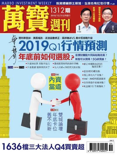 萬寶週刊 2018/12/21 [第1312期]:2019Q1行情預測