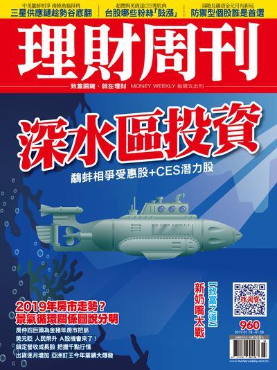 理財周刊 2019/01/18 [第960期]:深水區投資