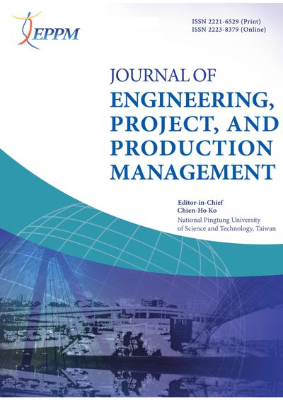 Journal of Engineering, Project, and Production Management [January 2019, 9(1)]