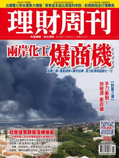 理財周刊 2019/04/12 [第972期]:兩岸化工爆商機
