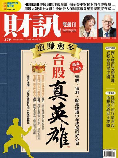 財訊雙週刊 [第579期]:台股真英雄