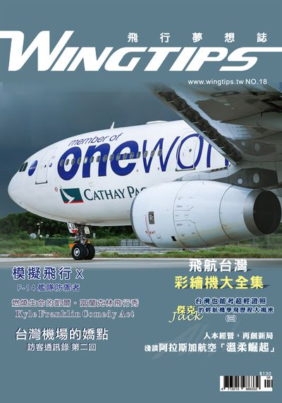 WINGTIPS 飛行夢想誌 [第18期]:飛航台灣 彩繪機大全集