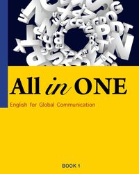 All in one [有聲書]:English for global communication. Book 1