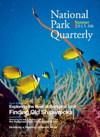 National Park Quarterly 2013.06 (Summer):Fingding Old Shipwrecks: Exploring the Reef at Dongsha Atoll