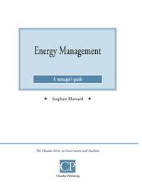 Energy management:a manager's guide
