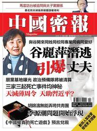 中國密報 [總第29期]:谷麗萍潛逃引爆丈夫
