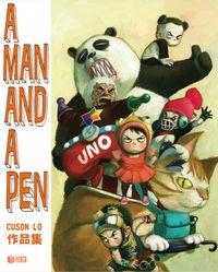 A man and a pen:Cuson Lo作品集