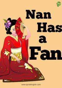 Nan has a fan [有聲書]