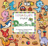 Treasure map dinosaur:to improve concentration and observation