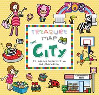 Treasure map the city:to improve concentration and observation