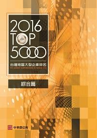 臺灣地區大型企業排名TOP5000. 2016, 綜合篇