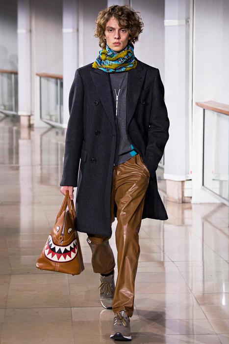 Hermes Shark Bag