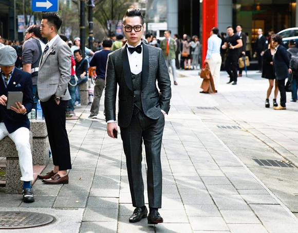 Dot Tuxedo 晚禮服 千代洋服 (2)