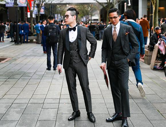 Dot Tuxedo 晚禮服 千代洋服 (1)