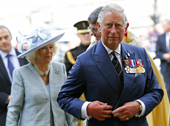 Structured Shoulder 查尔斯王子 Prince Charles drape suit